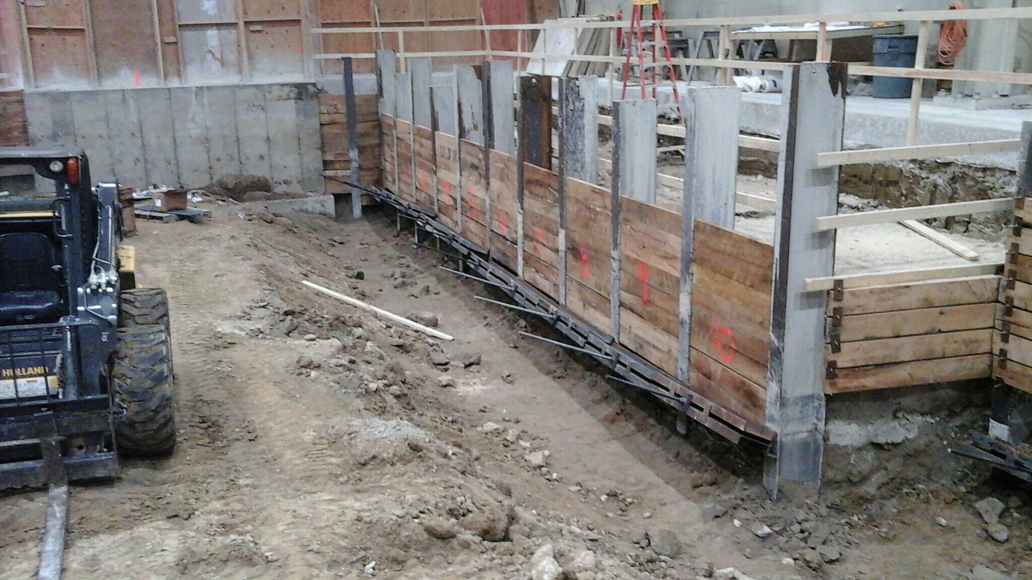 Piling shoring the righter company for Wood piling foundation
