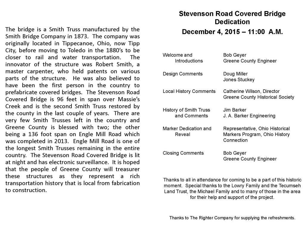 STEVENSON ROAD HIST MARKER DEDICATION BROCHURE_Page_2
