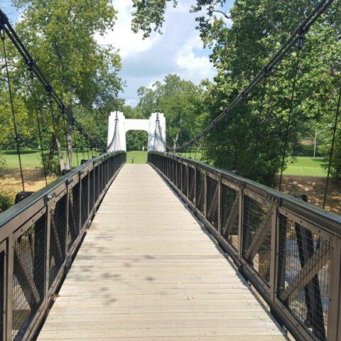 Academy Park Suspension Bridge